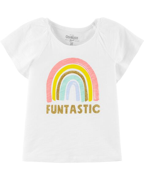 31b6673b Display product reviews for Rainbow Flutter Sleeve Tee This ...
