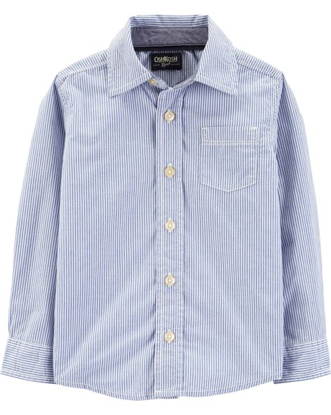 Display product reviews for Button-Front Striped Shirt