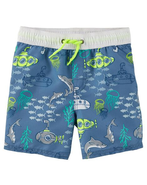 Display product reviews for OshKosh Ocean Icon Swim Trunks