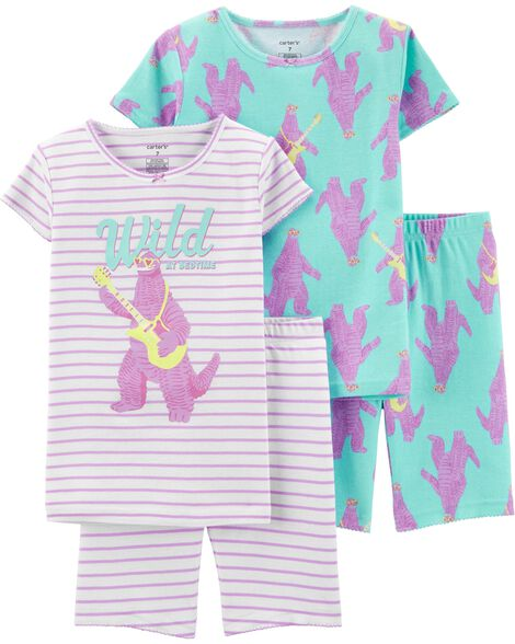 Display product reviews for 4-Piece Monster Snug Fit Cotton PJs