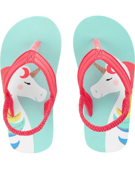 Display product reviews for Carter's Unicorn Flip Flops