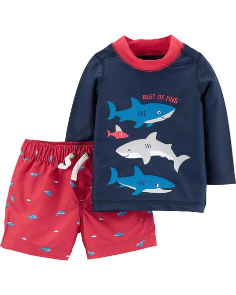 Display product reviews for Carter's 2-Piece Rashguard Set