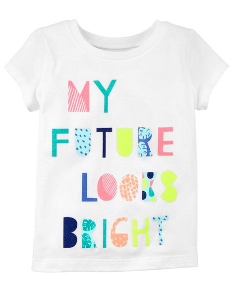 Display product reviews for My Future Looks Bright Jersey Tee
