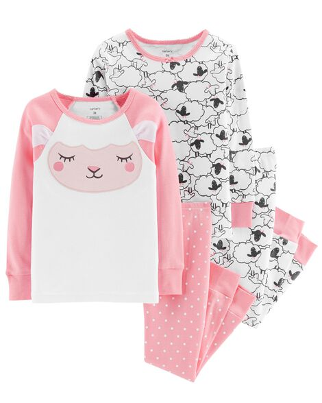 Display product reviews for 4-Piece Sheep Snug Fit Cotton PJs