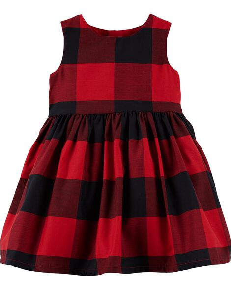 Display product reviews for Buffalo Check Holiday Dress