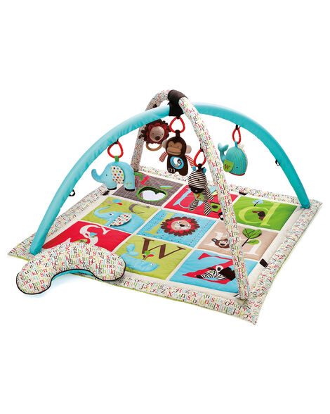 Display product reviews for Alphabet Zoo Activity Baby Gym