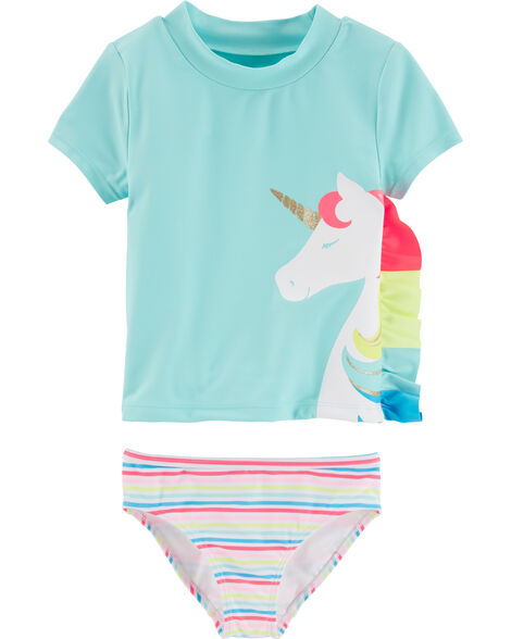 Display product reviews for Carter's Unicorn 2-Piece Rashguard Set