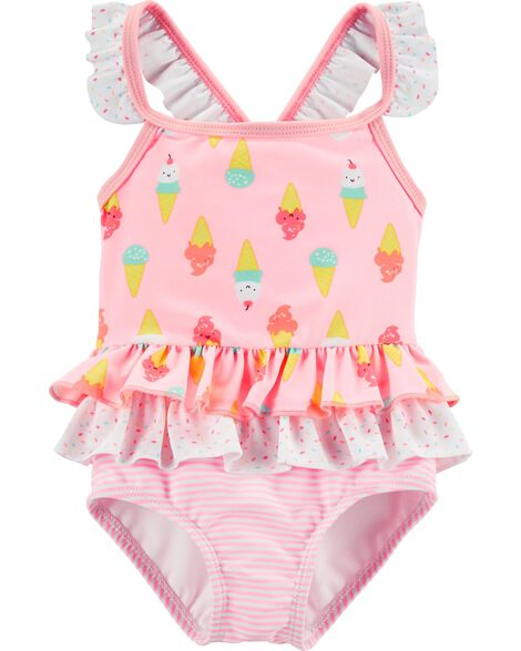 3b5992d8daed7 Display product reviews for Carter s Ice Cream 1-Piece Swimsuit