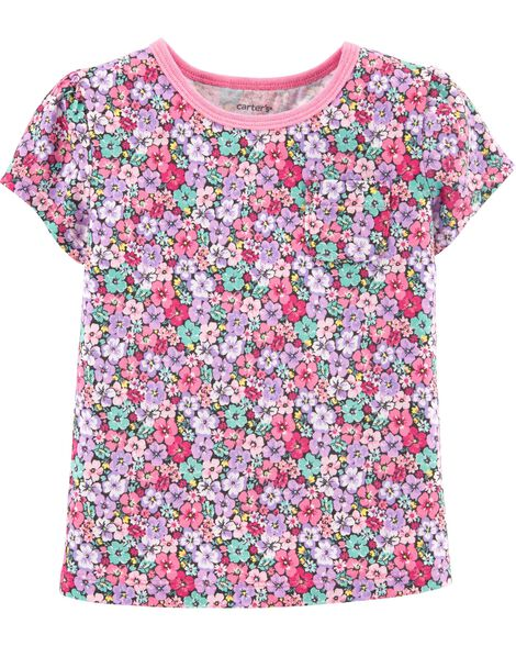 eb5549afb Display product reviews for Floral Pocket Jersey Tee