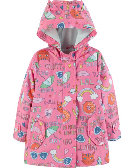 Display product reviews for Graphic Raincoat