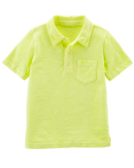 Display product reviews for Neon Garment-Dyed Slub Jersey Polo
