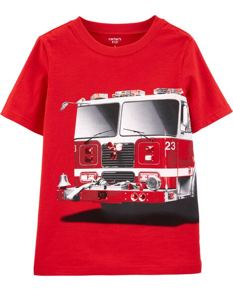 Display product reviews for Firetruck Jersey Tee
