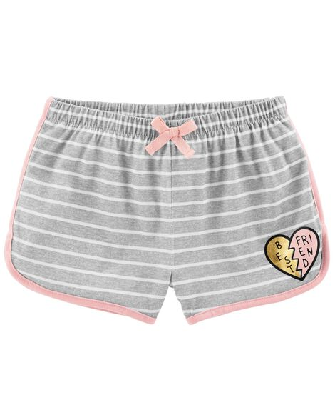 Display product reviews for Striped French Terry Sleep Shorts