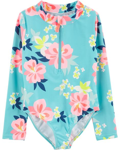 Display product reviews for Carter's Floral 1-Piece Rashguard