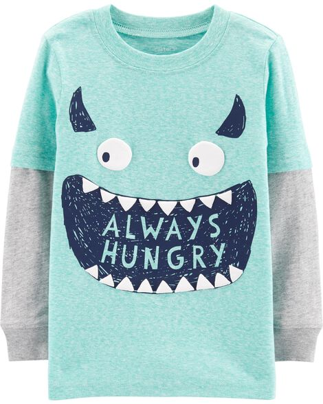 Display product reviews for Monster Layered Look Tee