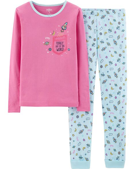 Display product reviews for Snug Fit Space Cotton PJs