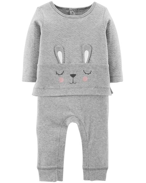 ab2ebdfde72f Baby Girl One-Piece Jumpsuits   Bodysuits