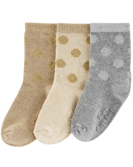 Display product reviews for 3-Pack Polka Dot Socks