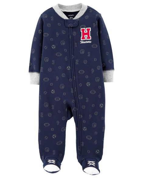 Display product reviews for All Star Zip-Up Cotton Sleep & Play