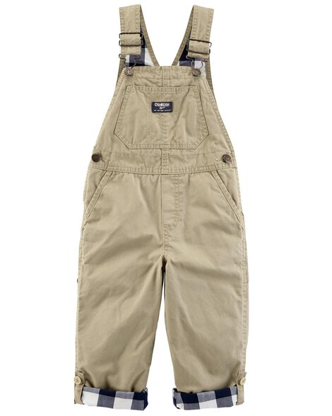 Display product reviews for Convertible Poplin Overalls