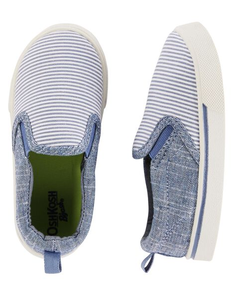 Display product reviews for OshKosh Chambray Slip-On Shoes
