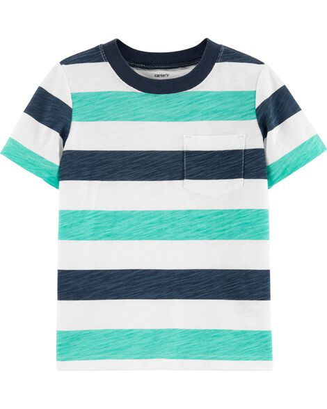 Display product reviews for Striped Slub Jersey Tee
