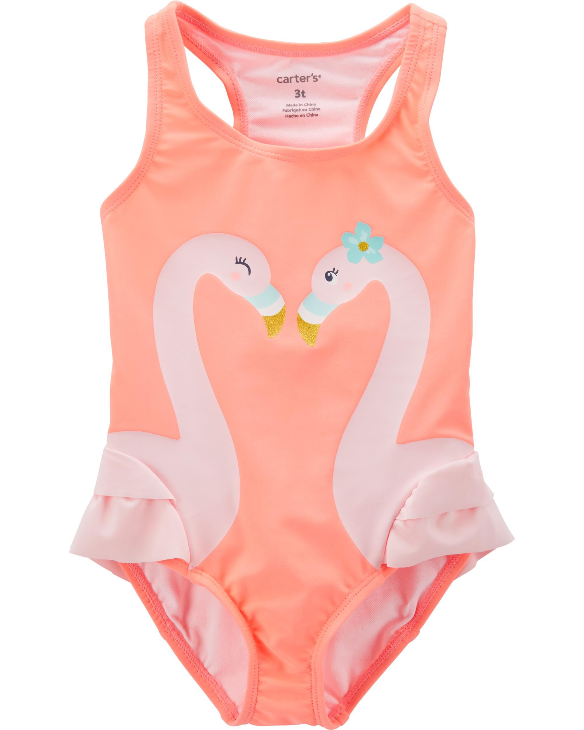 Clothing, Shoes & Accessories Nwt Carters Little Girls Blue Anchors Rash Guard Swim Suit 4t Moderate Cost
