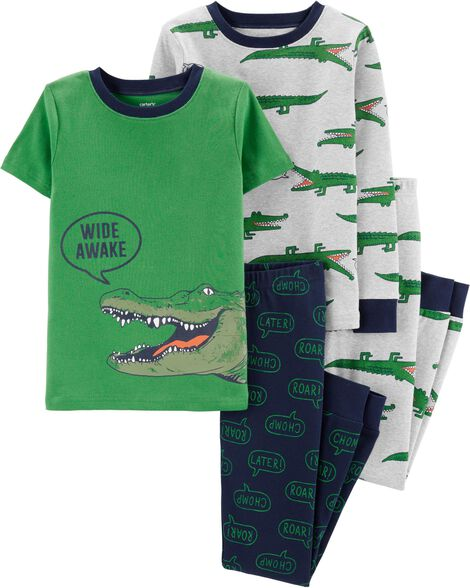 9286dcaa3 Display product reviews for 4-Piece Alligator Snug Fit Cotton PJs