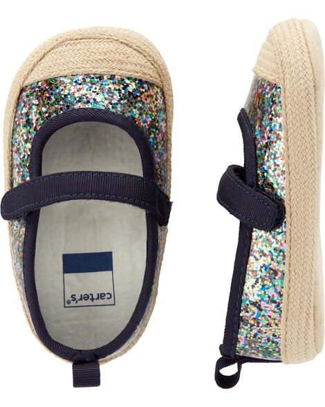 e9bb84eb9ee74 Carter s Glitter Mary Jane Baby Shoes