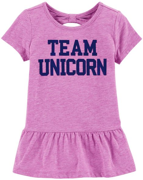 Display product reviews for Team Unicorn Peplum Tunic