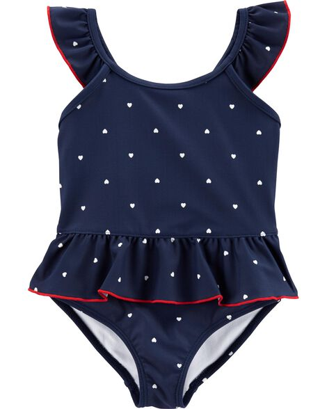 c3c14a1e44 Toddler Girl Swimwear: Bathing & Swim Suits | Carter's | Free Shipping