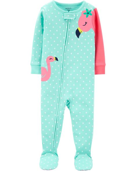 64f042a50 Display product reviews for 1-Piece Flamingo Snug Fit Cotton Footie PJs