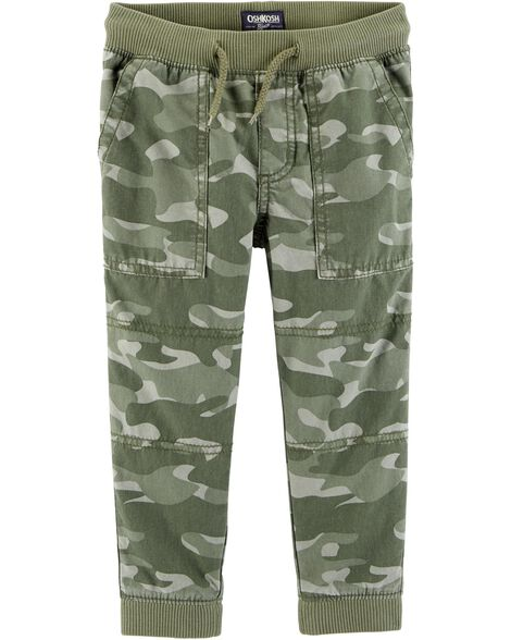 Display product reviews for Camo Canvas Joggers