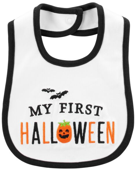 Display product reviews for My First Halloween Teething Bib