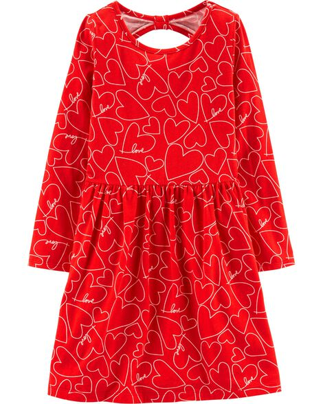 Display product reviews for Heart Jersey Dress