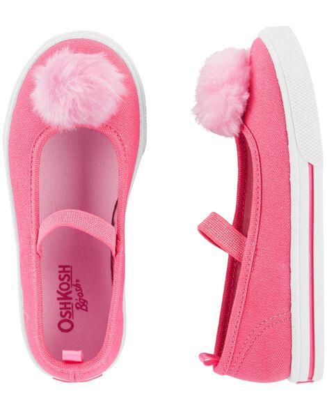 Display product reviews for OshKosh Pom Pom Mary Janes
