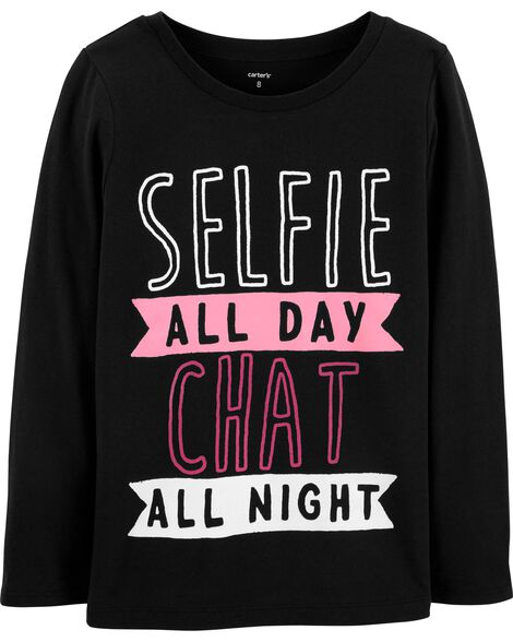 Display product reviews for Selfie All Day Jersey Tee