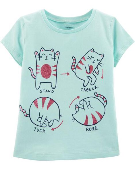 Display product reviews for Forward Roll Cat Jersey Tee