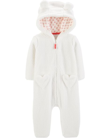 Display product reviews for Hooded Sherpa Jumpsuit