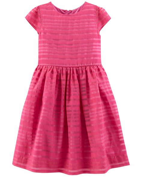 Display product reviews for Organza Stripe Dress