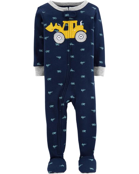 06dfa39bf4 Display product reviews for 1-Piece Construction Snug Fit Cotton Footie PJs