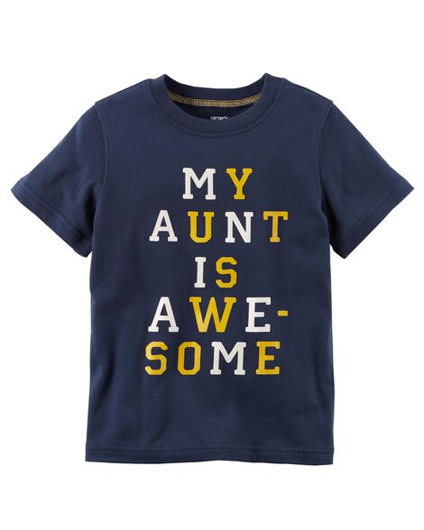 b0c5b9de4a Display product reviews for My Aunt Is Awesome Jersey Tee