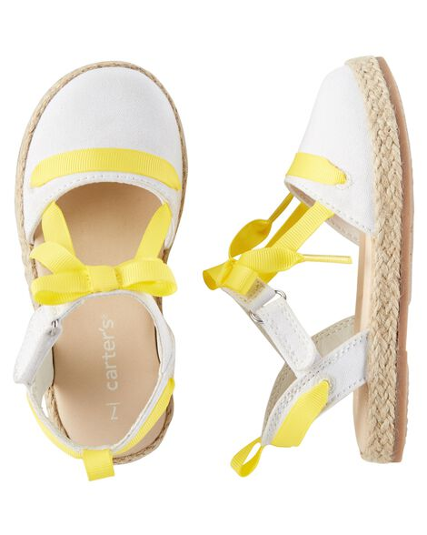 Display product reviews for Carter's Espadrille Sandals