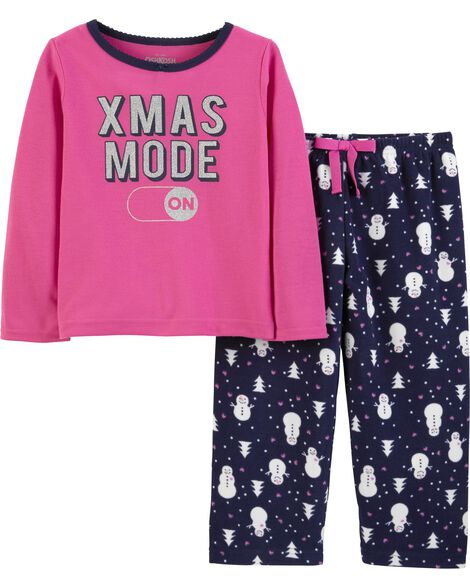Display product reviews for 2-Piece Xmas Mode PJs