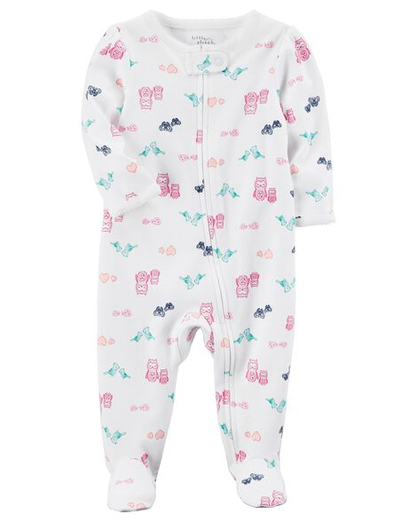 Display product reviews for Certified Organic Cotton Zip-Up Sleep & Play