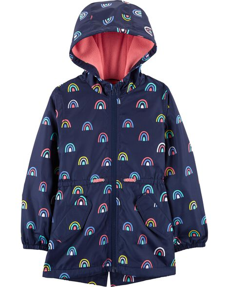 9ac838852 Display product reviews for Rainbow Fleece-Lined Raincoat