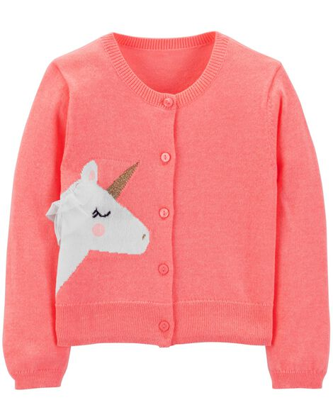 Display product reviews for Neon Glitter Unicorn Cardigan