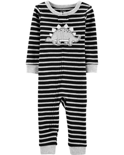 8e050a7753a41 Display product reviews for 1-Piece Dinosaur Snug Fit Cotton Footless PJs