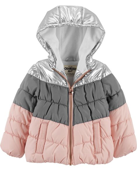 Display product reviews for Metallic Bubble Jacket