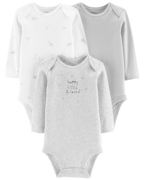 Display product reviews for 3-Pack Certified Organic Bodysuits